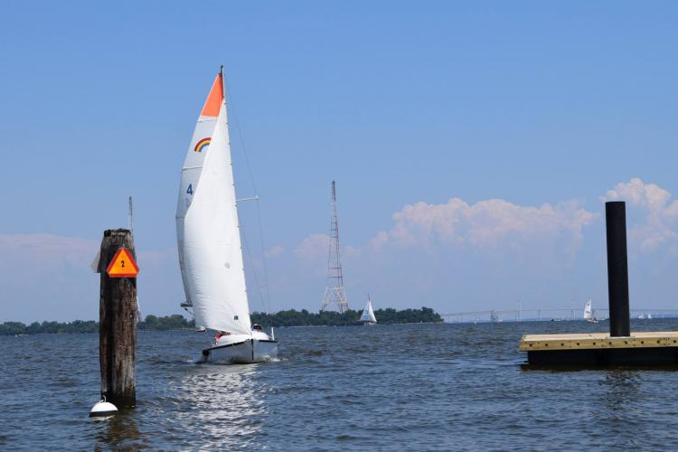 Photo courtesy of Annapolis Sailing School