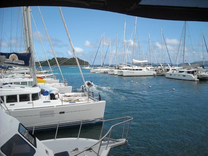 sailing marina