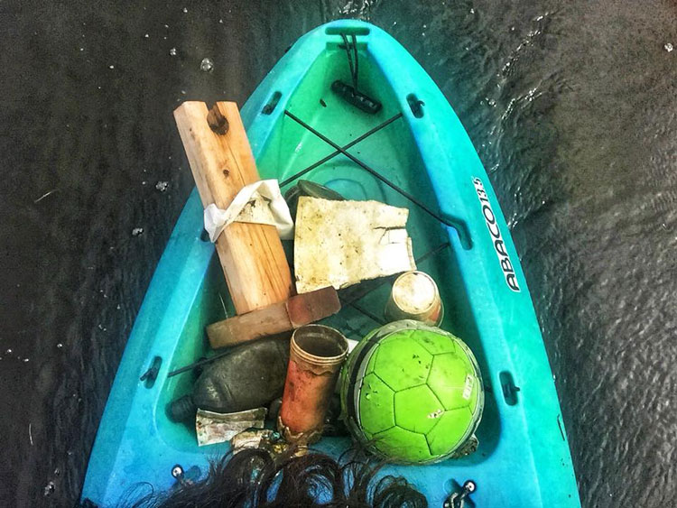 Chesapeake Bay Trash Clean Up Cindy Wallach