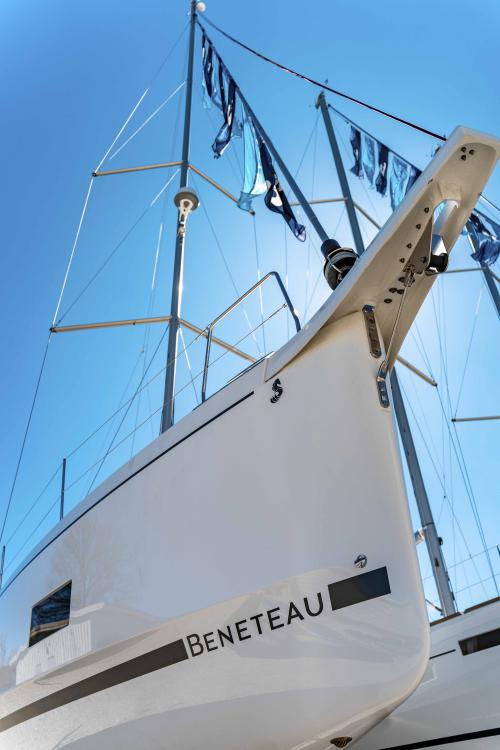 Beneteau oceanis 46.1 from Bow
