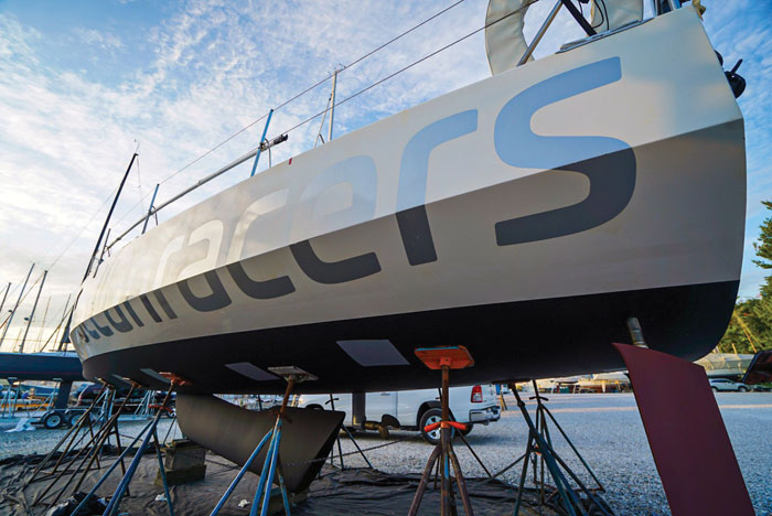 Hermes at Bert Jabin Yacht Yard