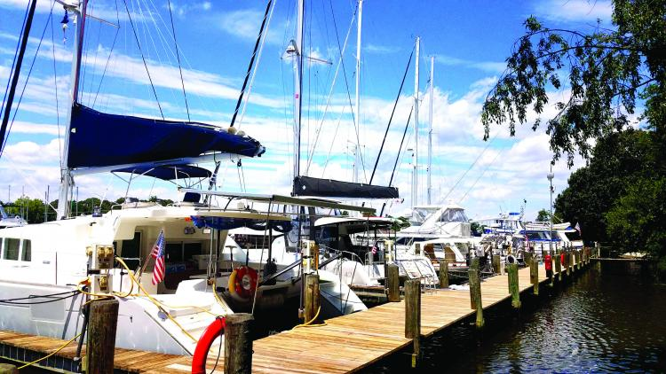 Photo Courtesy of Shipwright Harbor Marina