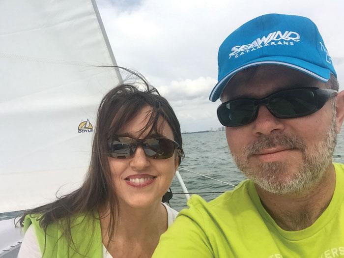 Start Sailing Now: Terri and Thomas Sand