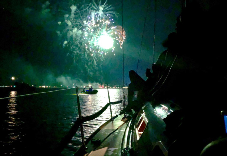 Fireworks on the Chesapeake