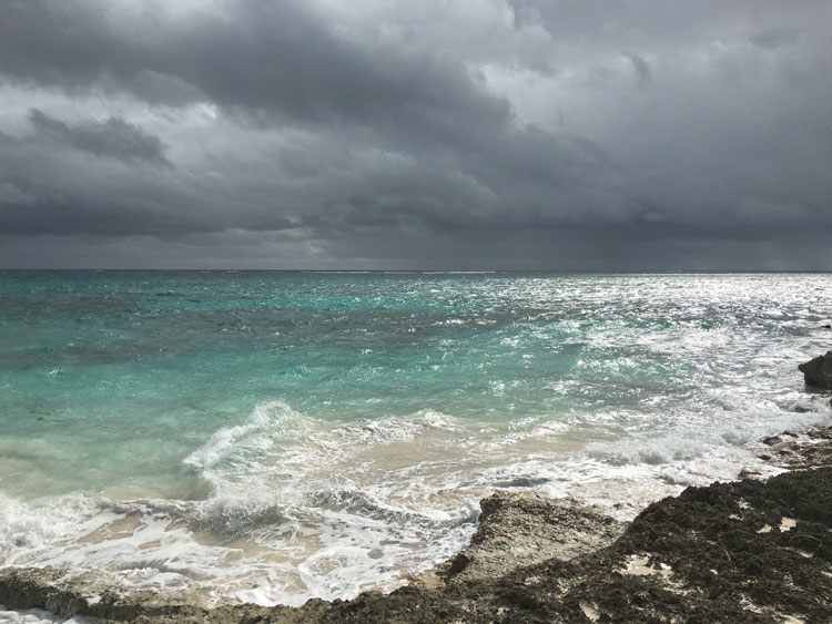 Abaco Storm Clouds