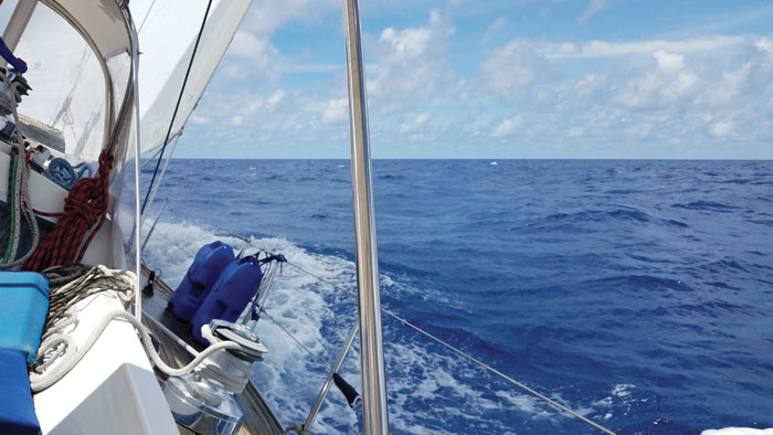 many people dream of cruising on a sailboat.