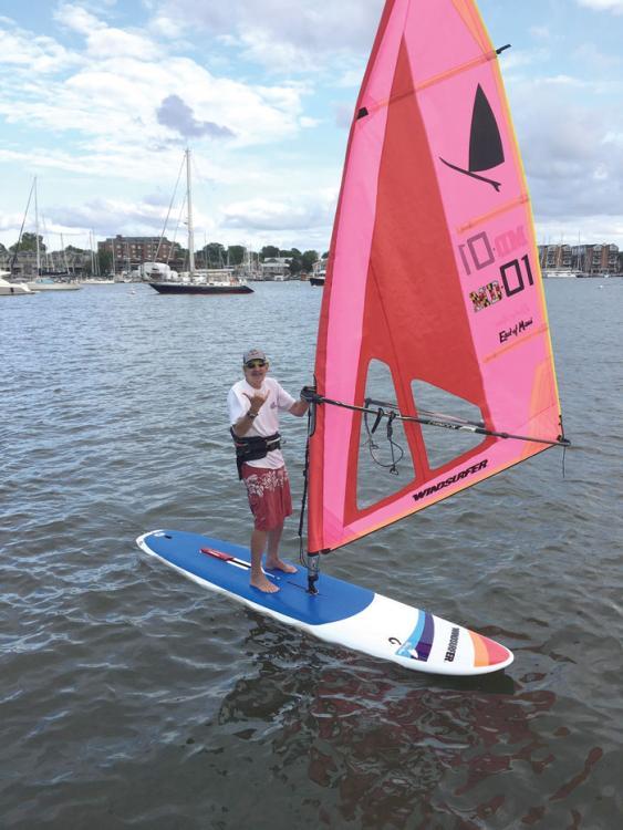 Windsurfing City Dock Annapolis