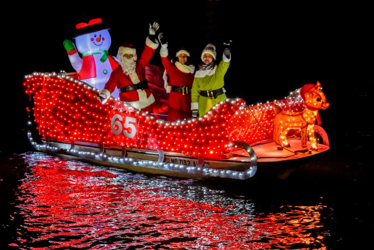EYC Lighted Boat Parade