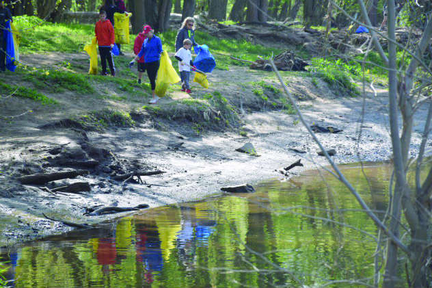 The annual cleanup is critical in order to protect the Potomac watershed's Natural Environment