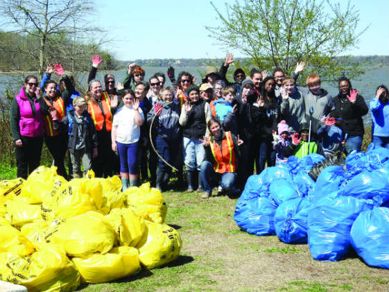 Grassroots clean up activities in April