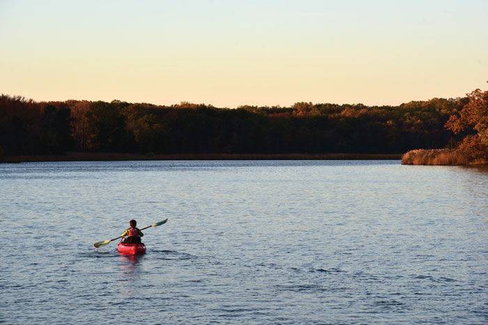 cruising sailor kayaks Rhode River