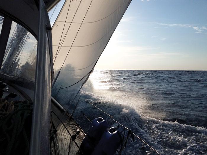 cruising builds seamanship skills