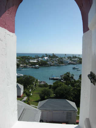 View from the Hopetown Lighthouse