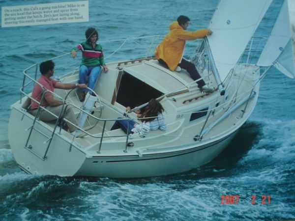 The Cal 27 Boat Review