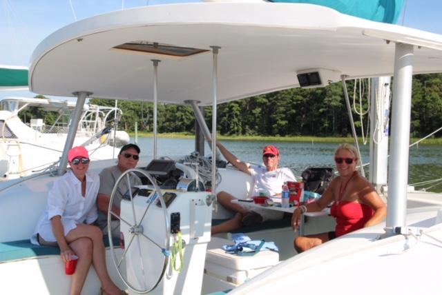 Capt Ken Vinson and crew