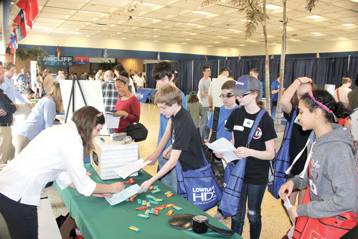 Marine and Maritime Career Expo. Photo by Rick Franke