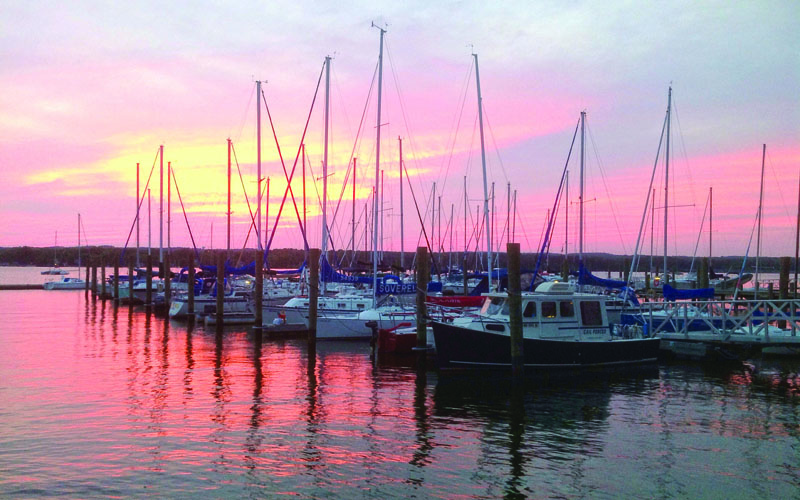 Is your marina well protected in case of a storm?