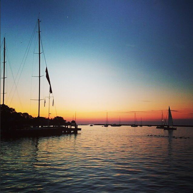 Calm at Mackinac. Photo via Twitter #CYCRTM