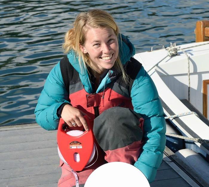 Project Ambassador Yachtswoman Susie Goodall