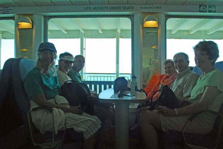 Club Crabtowne Group on Lewes to Cape May Ferry