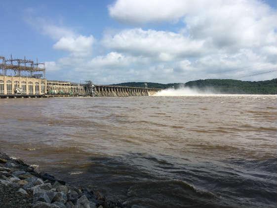 Photo of Conowingo Dam from Susquehanna State Park