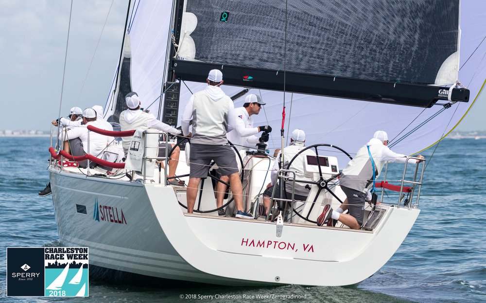 Ian Hill's Sitella team placed second. Photo courtesy of Charleston RW