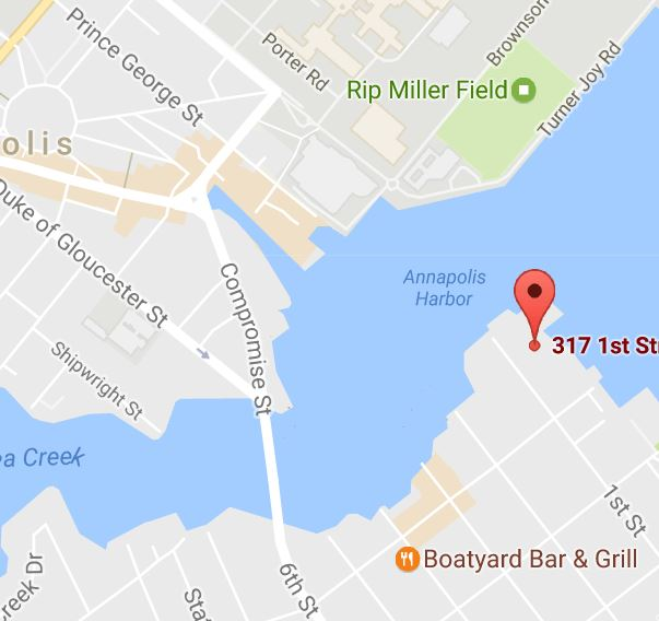 Eastport Yacht Club is at 317 First Street in 21403.