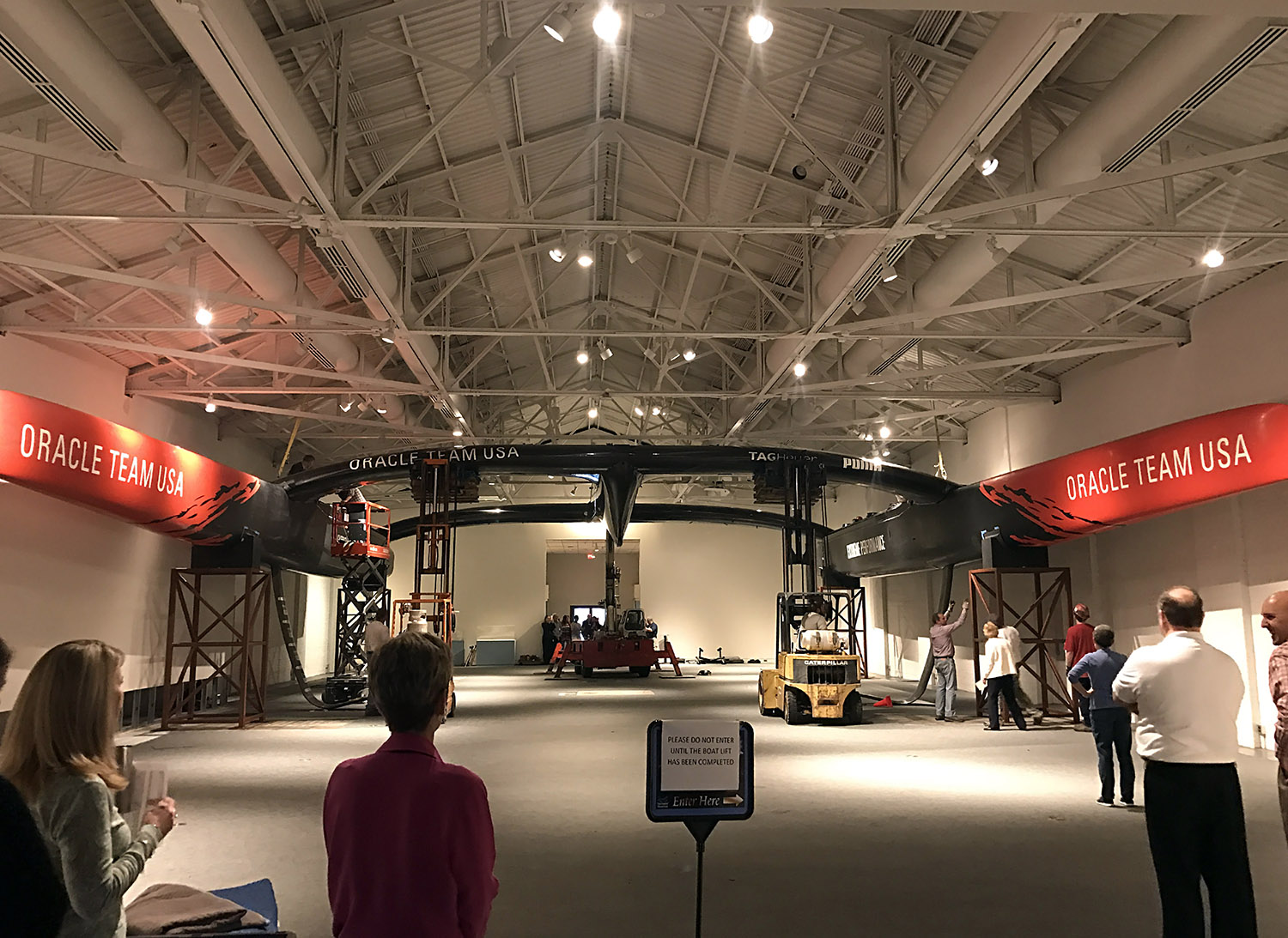 The Speed and Innovation exhibit at the Mariners' Museum in Newport News, VA. Photo courtesy of the Mariners' Museum