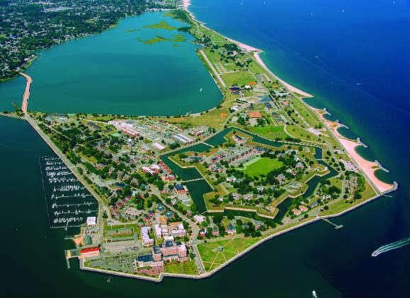Fort Monroe. Photo courtesy of Hampton CVB