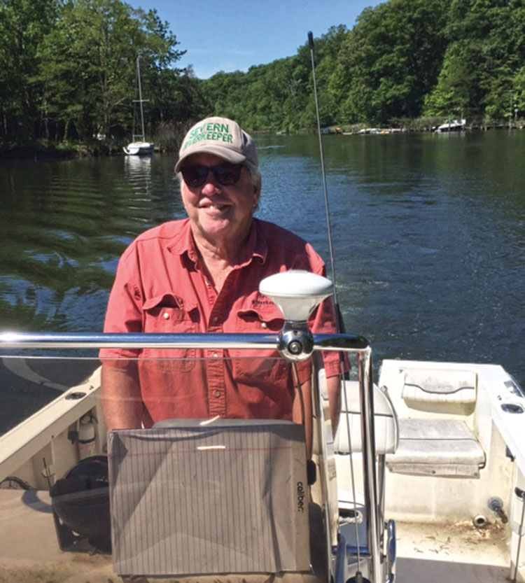 Severn Riverkeeper Fred Kelly