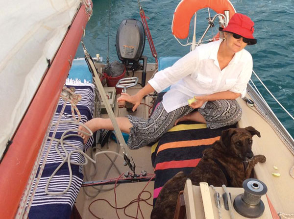 Sailing with pets