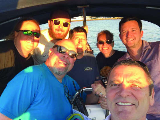 They're a great crew, but could they come back and get you if you fell overboard?