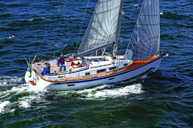 New Hallberg Rassy to premier at the U.S. Sailboat Show