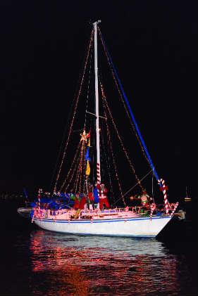 Yorktown, VA, Lighted Boat Parade takes place December 2