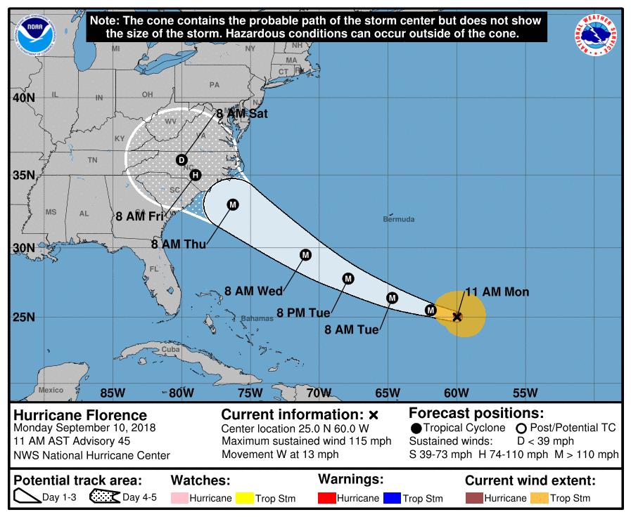 National Hurricane Center/ nhc.noaa.gov