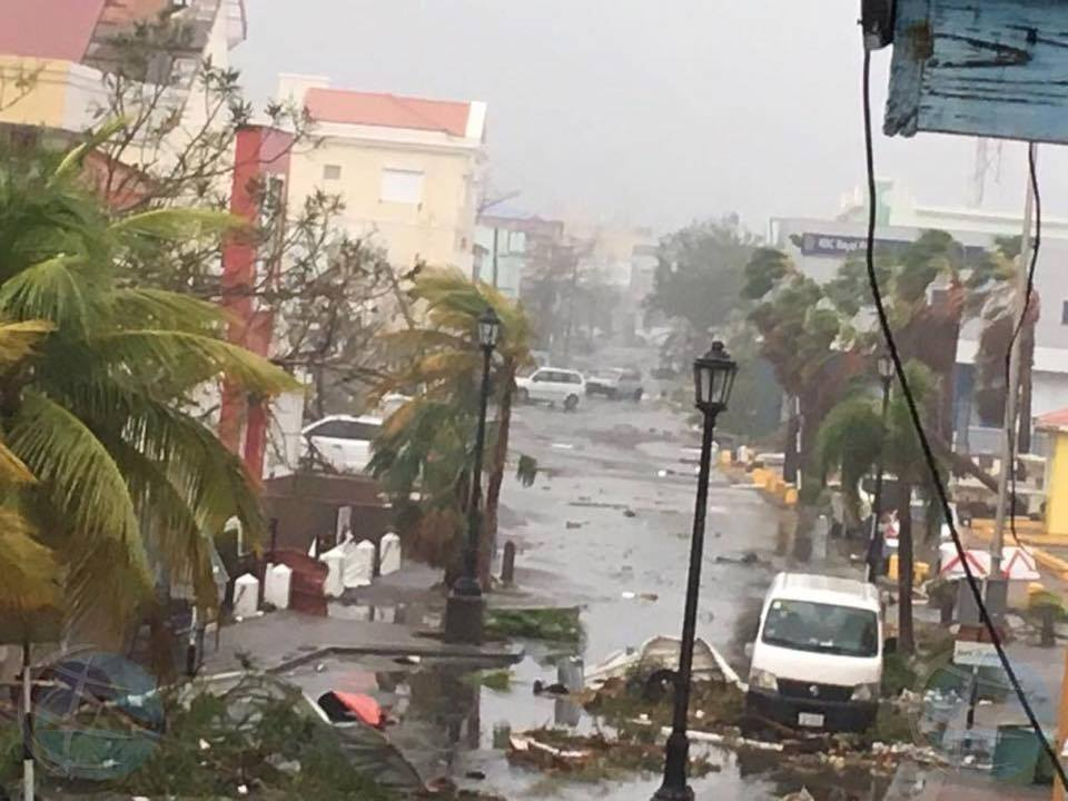 Irma destruction from St. Martin News FB