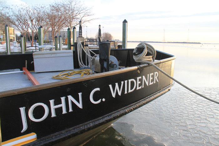 The John C. Widener. Photo by Craig Ligibel