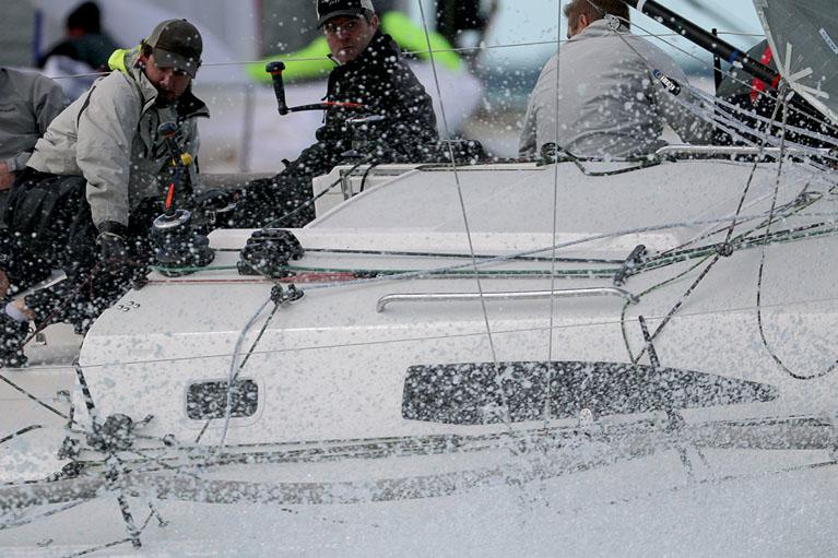 Close-in action in the J/111's - photo Max Ranchi