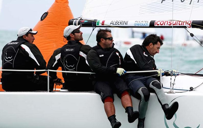 Can Carlo Alberini make it a 3-peat in the J/70's? - photo Max Ranchi