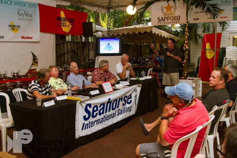 Post-race seminars at the Waterfront Brewery add education and expert panel discussions to the event - photo Ken Staneck