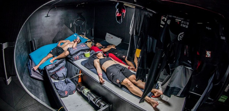 Exhaustion seems like an understatement. -- photo from volvooceanrace.com