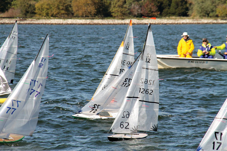 Sailing Remote Controlled Sailboats on the Chesapeake Bay