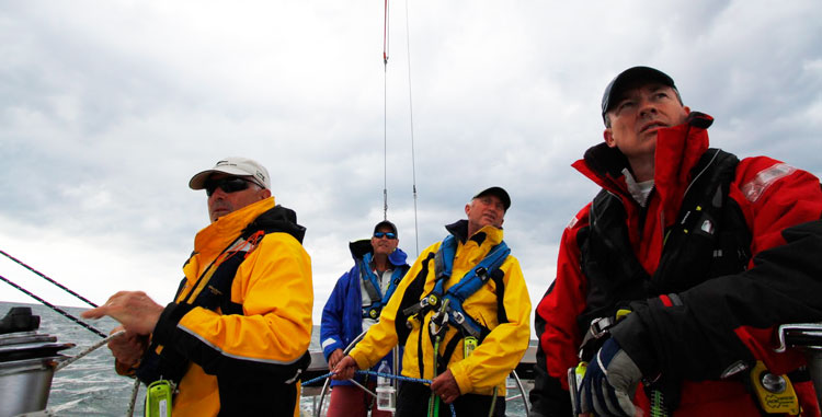 Before going offshore, have the crew go together to a Safety at Sea seminar.