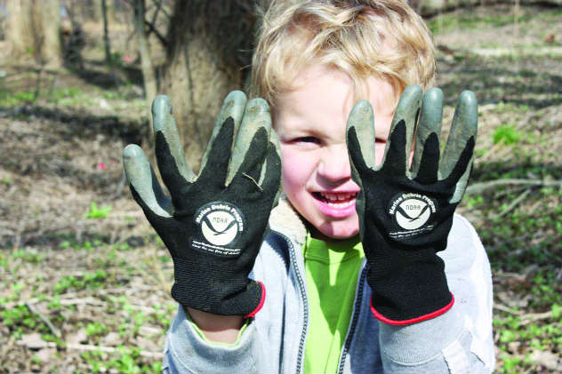 Many cleanup events provide gloves, recycling bags, and trash bags.