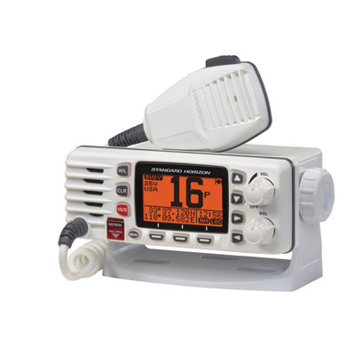 Use a VHF-FM marine radio, not a cellphone, to contact the Coast Guard.
