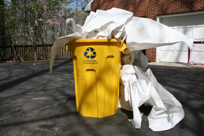 Shrink Wrap Recycling Spinsheet