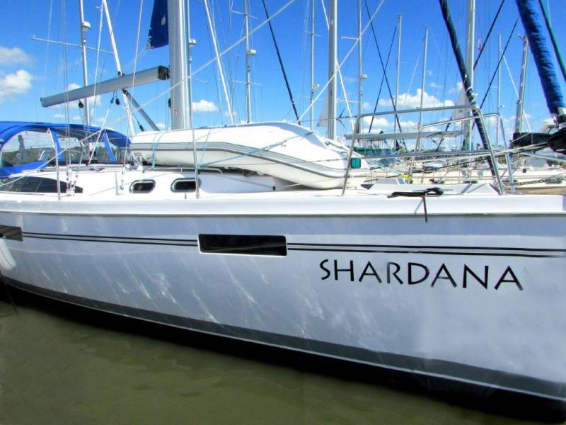 Shardana is a brand new 43-foot sloop. Photo Courtesy Shardana Sailing Charters