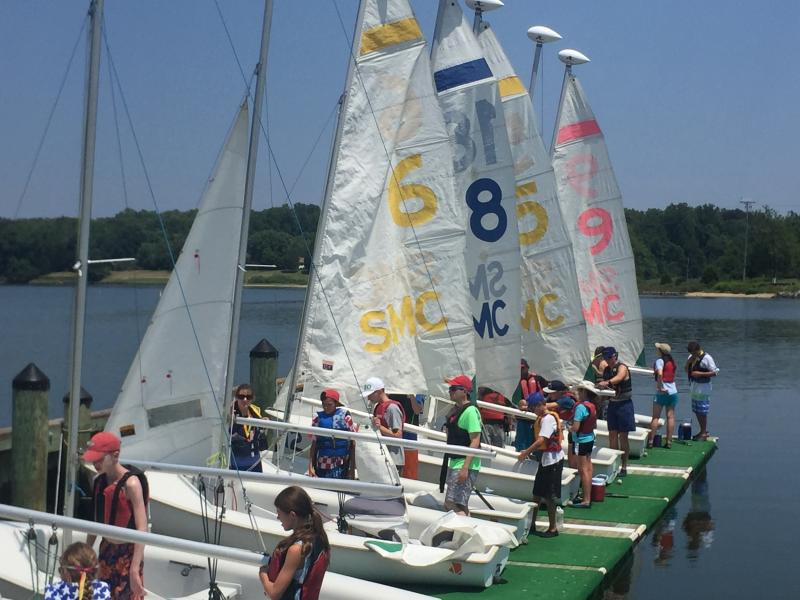 Registration is still open for this summer's Brendan Sail Training programs in Annapolis for youth with learning differences. Photo courtesy Brendan Sailing