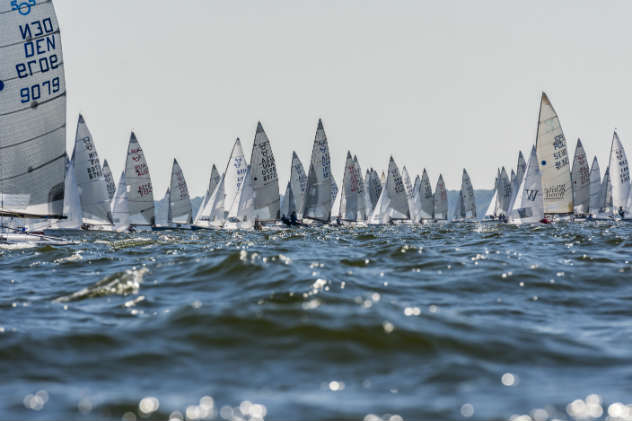 505 Worlds day one photo by Ben Cushwa/ SpinSheet