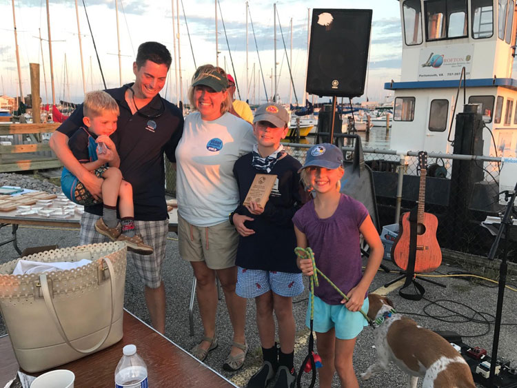 The Rule family collectively won Boat of the Day.